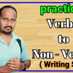 Verbal to Non - verbal