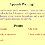 Appeal Writing Skill