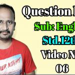 Question Bank HSC Video 6
