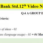 Question Bank HSC Video No.09