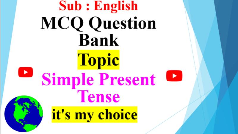 MCQ Question Bank