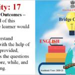 Std.9th Bridge Course Activity No.17