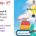 Std.10th Bridge Course Activity No.17