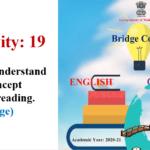 Std.10th Bridge Course Activity No.19